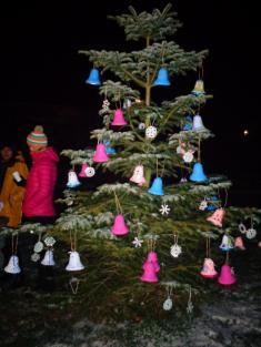 Rozsvěcení vánočního stromu - 1.12.2018