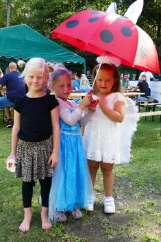 Letní karneval na ukončení prázdnin