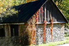 Stražisko v barvách podzimu 2
