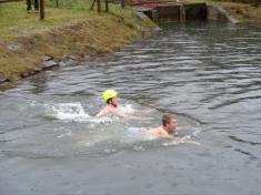 Vánoční plavání